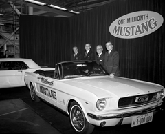 1966Millionth Mustang