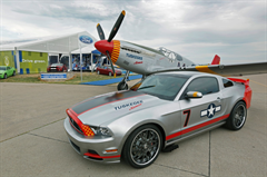 2013 Mustang Red Tails