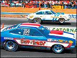 Gapp and Roush Drag Racing Car